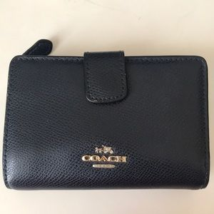 Coach Navy Blue Wallet